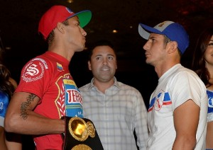 Johan Pérez, Interim WBA World Super Lightweight Champion - Golden Boy & Mauricio Herrera