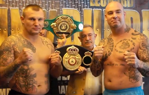 Lucas Browne vs Andriy Rudenko weigh-in