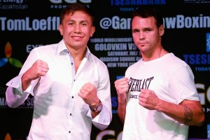 Golovkin - Geale press conference