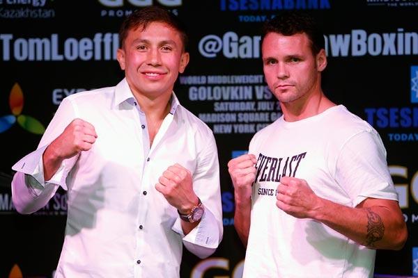 Golovkin vs Geale met in New York
