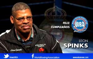 Felicidades a Leon Spinks