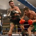 Unbeaten light middleweight Dennis Hogan - Steve Moxon