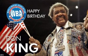 Don King celebrates a new year of life