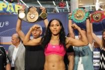 World female welterweight champion Cecilia Braekhus