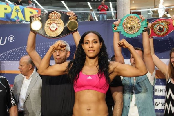 World female welterweight champion Cecilia Braekhus
