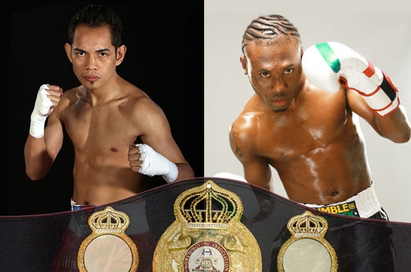 Nicholas Walters vs Nonito Donaire for the 126 lbs WBA title