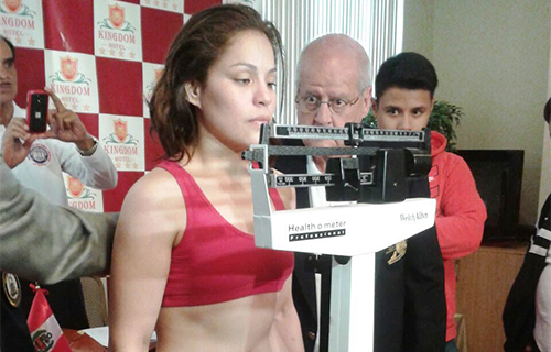 Lecca is ready to defend in Lima