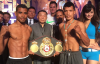 Photos/Weights: Petalcorin, Tello Ready For WBA Bout