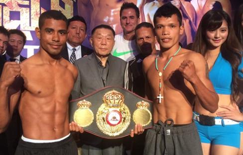 Photos/Weights: Petalcorin, Tello Ready For WBA Bout