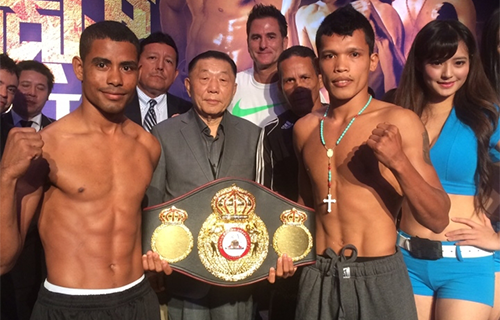 Photo/Weights: Petalcorin, Tello Ready For Interim WBA Bout