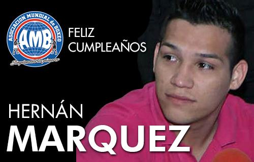 """Feliz cumpleaños a """"Tyson"""" Márquez"""