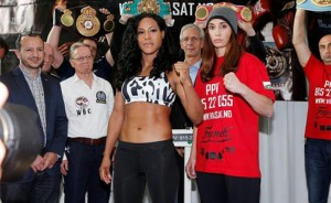 On Saturday Cecilia Brahekus goes for the unification of the four titles
