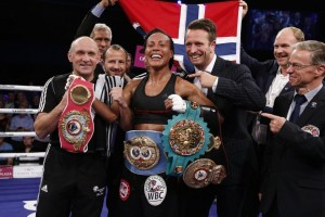 Cecilia Braekhus made history and unified titles