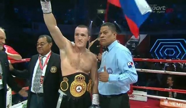 Video: Denis Lebedev retains WBA cruiserweight title