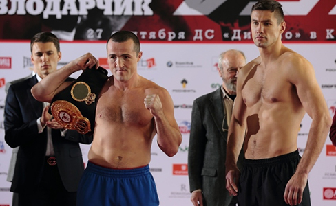 Lebedev and Kolodziej already in weight for their WBA Cruiserweight title fight