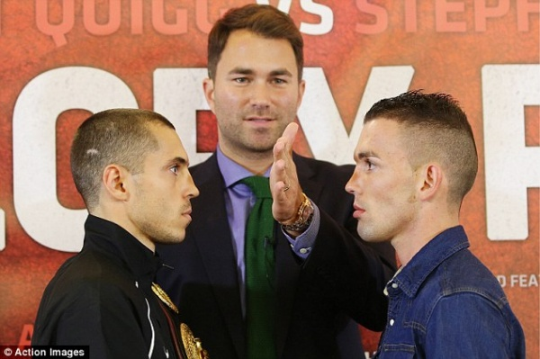 Video: Quigg is ready to defend in Manchester