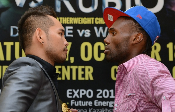Donaire-Walters Press conference photos/video