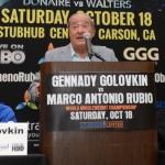 Golovkin - Rubio Press conference