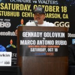 Golovkin- Rubio Press conference