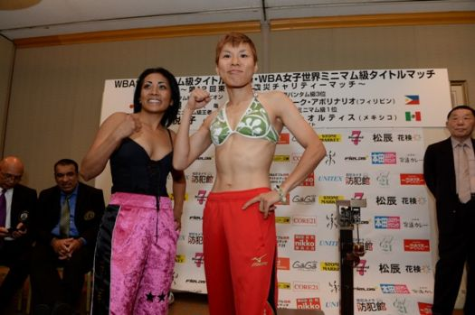 "Tada trust son her preparation to defeat ""Avispa"" Ortiz and win back her belt"