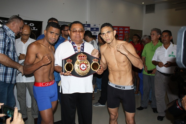 KO Drugs weigh-in photos