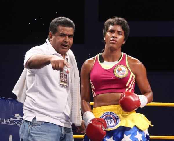 Liana in boxing ring 7