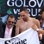 Golovkin - Rubio weigh-in