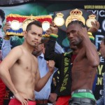 Donaire - Walters weigh-in
