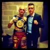 Dardan Zenunaj WBA International Super Featherweight Champion