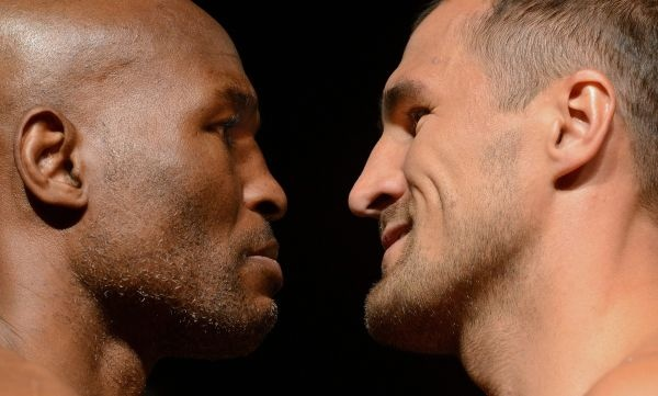 Photos: Hopkins vs. Kovalev Monster Weighin Gallery