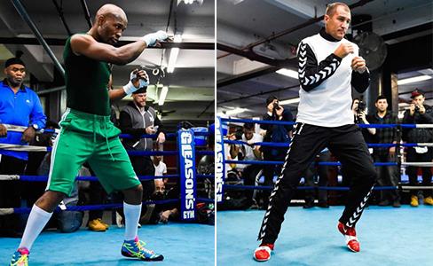 Photos: Bernard Hopkins-Sergey Kovalev workout at Gleason's Gym