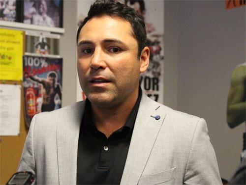 De La Hoya aconseja a los boxeadores de hoy
