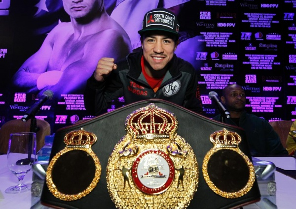 Jessie Vargas is happy to be in Macao to defend his WBA  title