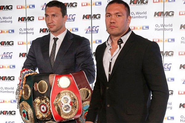 Wladimir Klitschko against Pulev on Saturday in Hamburg