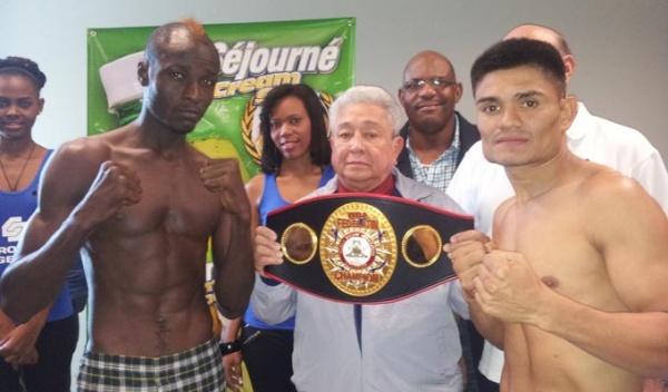 Evens Pierre y René González 134.25 en Haití