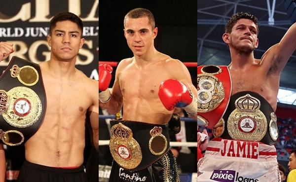 Three WBA titles at stake on Saturday, November 22