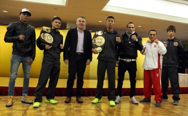 Photos: Uchiyama-Perez, Kono-Jimenez, Rossel-Taguchi Final Presser
