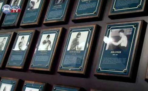 The new inductees of the boxing Hall of fame will be announced tomorrow