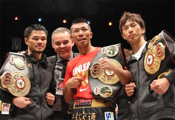 Unbeaten Uchiyama retains WBA 130lb belt by stopping Perez after ninth