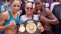 Jackie Nava - Sayda Mosquera weigh-in