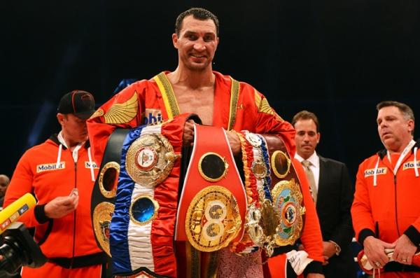 Wladimir Klitschko is the fighter of the month of November for the WBA