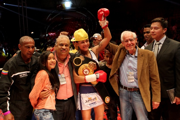 Photos: Mayerlin Rivas is the WBA bantamweight champion