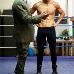Chudinov - Eubank Open Workouts in London