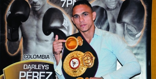 "Darleys Pérez: ""Colombia sounds again in the boxing world"""