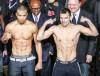 Dmitry Chudinov - Chris Eubank jr weigh-in