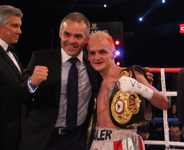 Photos: Hekkie Budler retained his 105 lbs title with a great demonstration