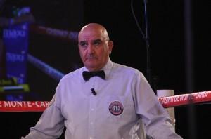 Hekkie Budler vs Jesus Silvestre - Referee Stanley Kristodoulou