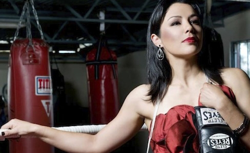 Jackie Nava enters the ring this Saturday