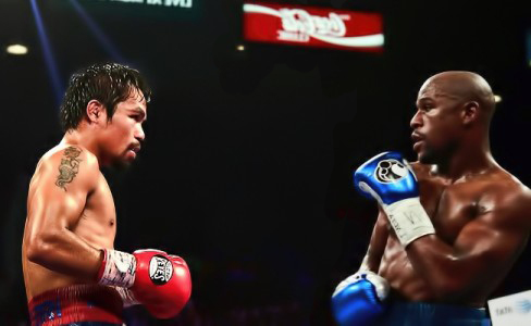 Floyd Mayweather and Manny Pacquiao to make one joint appearance before fight week
