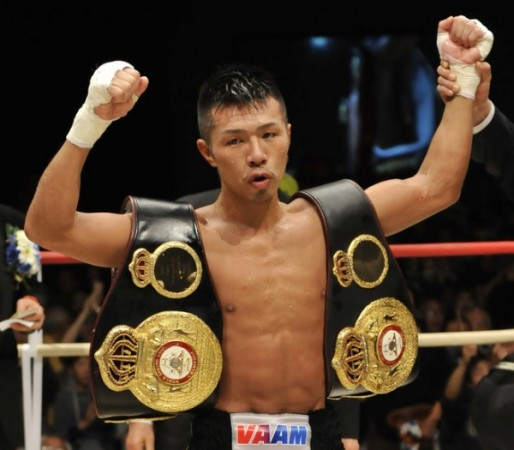 Uchiyama  and Tagushi defend on Wednesday